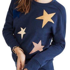 MADEWELL Navy Starry Sweatshirt